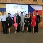 Sächsische Tanzpaare bei Tanzsportfreunden in Tschechien
